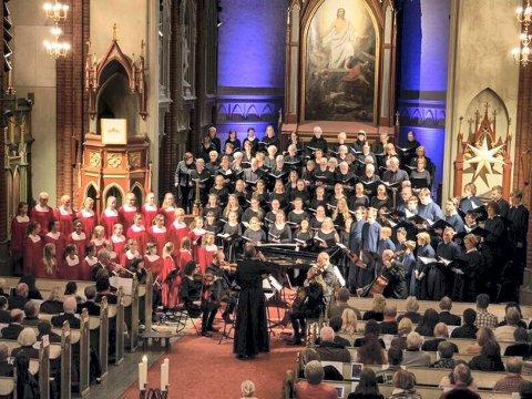 Jubileum: Adventsfestivalen åpner søndag med flere av korene i en storslått konsert.