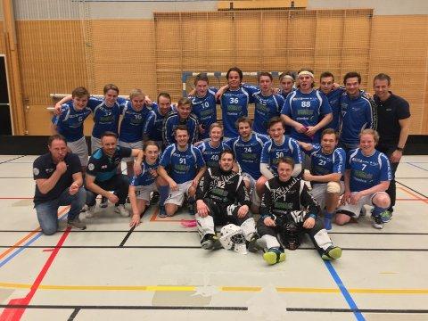 Vant: NOR 92 vant 1. divisjon øst mandag kveld.