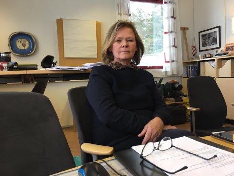 Rektor ved Røyken videregående skole Laila Handelsby.