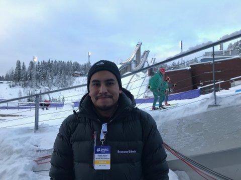 Vår journalist Erik Sergio Auklend er til stede under junior-VM i Lahti.