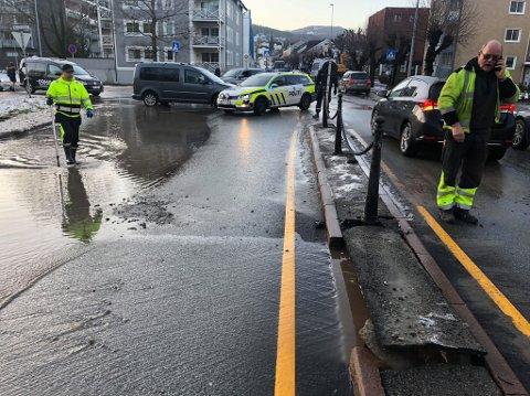 Nye Drammen kommune har lagt omfattende planer dersom noe akutt skulle skje, som vannlekkasjer eller ødelagte veier.