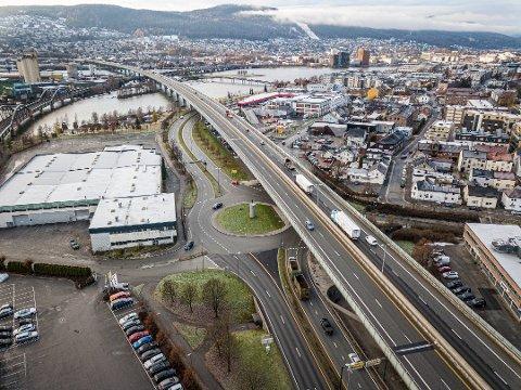 Denne rundkjøringen er blant Norges verste for bilister.