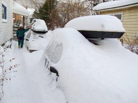 Det er ikke over før det er over. Til helgen kan vi få et nytt påfyll med 40 centimeter snø.