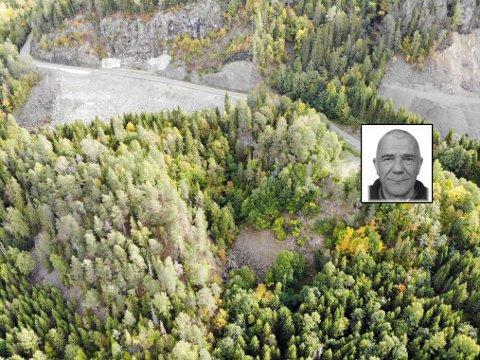 FUNNSTED: Sørelv-juvet i Lier, hvor en mann ble funnet død forrige sommer.
