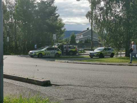 Flere patruljer bisto i å stoppe den stjålne bilen, der en 14 år gammel gutt befant seg inni. De to pågrepne er siktet for frihetsberøvelse.