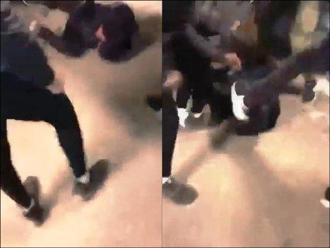 Voldshendelsen ble filmet og spredt. Filmen viser at gutten ble slått i bakken og slått og sparket mens han lå på bakken.