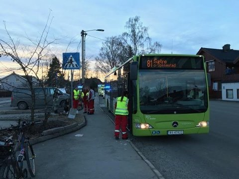 Mannen drapstruet bussjåføren med en øks på en holdeplass i Spikkestad.
