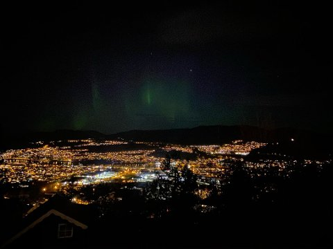 Dette kan du få se over Drammen natt til fredag hvis du har lykken med deg.