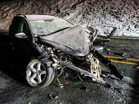 ULYKKE: Det er for tidlig å si noe om årsaken til ulykken, opplyser politiet.