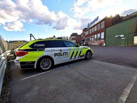 Arbeidsulykken skjedde ved Protan i Lier.