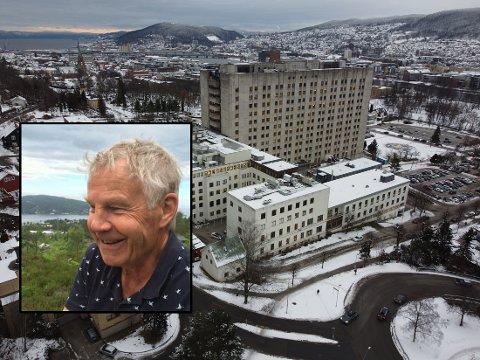 Arne Rusten fikk et alvorlig forløp etter å ha fått påvist koronasmitte 4. desember. 20 dager senere, på julaften, døde han på Drammen sykehus.