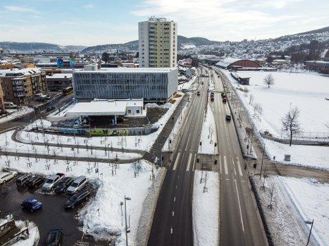 HEDRET: Nye Bjørnstjerne Bjørnsons gate ble åpnet høsten 2018. Nå er utbyggingen blitt hedret med pris.