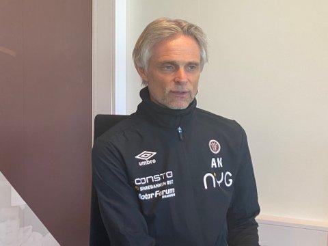 KREVENDE TID: André Nevstad, MIF Fotballs daglige leder og sportssjef, melder om flere koronatilfeller på A-laget.