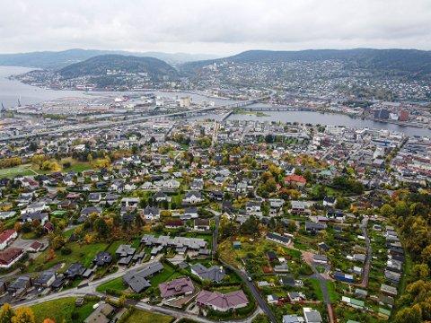 Drammen har vært blant de hardest rammede norske kommunene i hele pandemien. Hvor du bor i Drammen har også mye å si.
