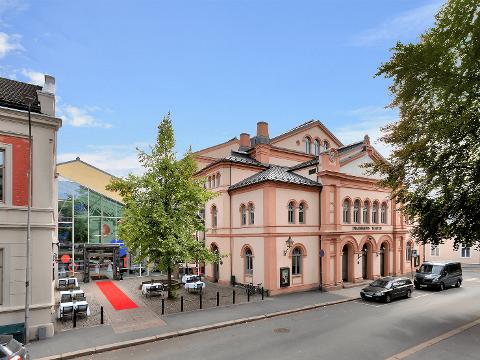 SKVIS: Vanskelig å søke millionstøtte når man ikke vet når man kan åpne melder Drammen Scener.