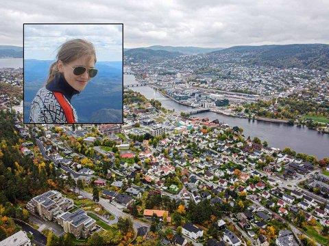 FRUSTRERT: Tobarnsmor Nadina Borgli er opprinnelig fra Latvia, men har bodd i Drammen i snart seks år med sin mann som er fra Oslo. Hun forteller at frustrasjonene rundt mange små ting har bygget seg opp over tid. Nå vurderer hun å flytte fra Drammen.
