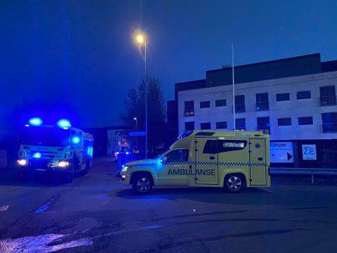 Det skal ha oppstått røykutvikling fra et loft i Ingvald Ludvigsens gate fredag.