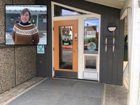 Barnehagestyrer i Steinberg barnehage, Kari Rusten, håper rullestolrampen kommer til rette.