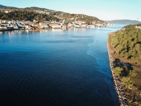 Det var lørdag ettermiddag at politiet prøvde å hjelpe de tre mennene som drev ut i Drammensfjorden – det noe spesielle er at de nektet å ta imot hjelp. Bildet er fra en tidligere anledning.