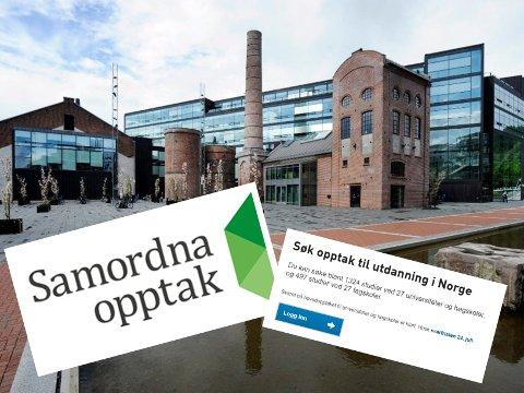 OPPTAK: Tallene for opptaket til høyere utdanning ved USN sitt campus i Drammen er klart.