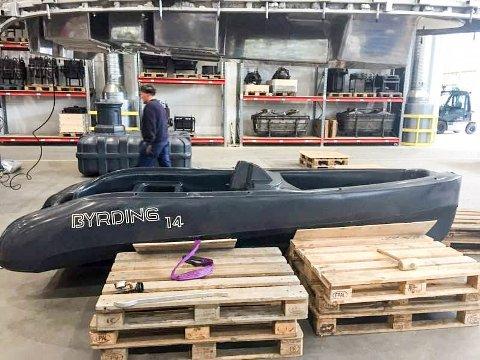 USTABIL: Båteventyret til Båtfabrikken AS ble meget mislykket.