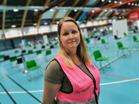 Vaksinekoordinator Kristina Vejlgaard har en soleklar oppfordring til innbyggerne i Drammen.