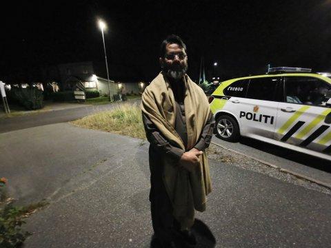 Adnan Ashfaq reagerte på kjøringen til bilen foran. Så smalt det kraftig.