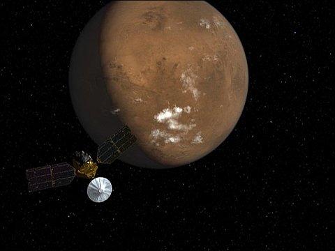 FOREDRAG: Sigurd Eide fra Mjøndalen er stipendiat ved Universitet i Oslo og jobber som forsker i NASAs neste Mars-oppdrag. Onsdag kommer han til Nedre Eiker bibliotek for å holde foredrag.