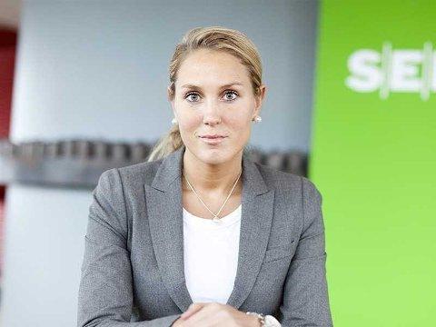 RENTEPANIKK: Erica Blomgren Dalstø i SEB mener panikken i idet norske rentemarkedet nå er overdreven.