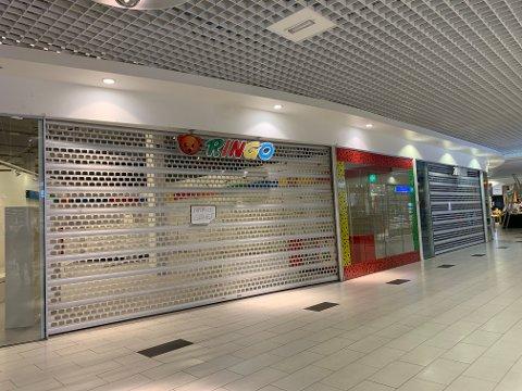 SLUTT PÅ LEK OG MORO: Leketøysbutikken Ringo på Eiker Senter er konkurs.