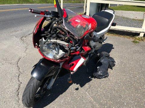 ØKING: Trygg Trafikk frykter en ny ulykkesommer for motorsyklistene. I fjor var den en personbil som brøt vikeplikten og kolliderte med en MC  i Hokksund fredag formiddag.