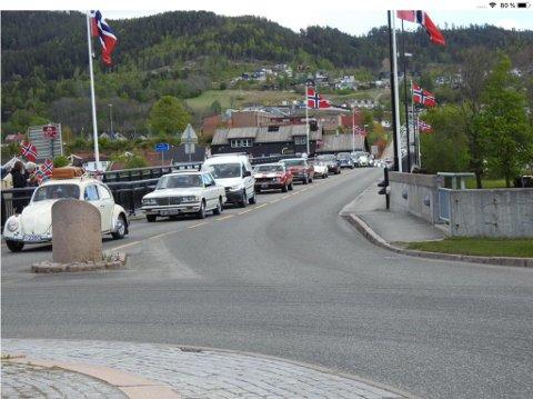 BLIR BRA: Norsk Motorhistorisk Senter på Burud i Øvre Eiker gjentar suksessen fra i fjor, og skal sørge for en real bilkortesje.