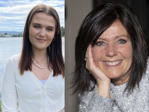 MORENS FOTSPOR: Sandra Syversen Gulbrandsen går i moren, Kate Gulbrandsen sine fotspor og følger drømmen om å leve av musikken.