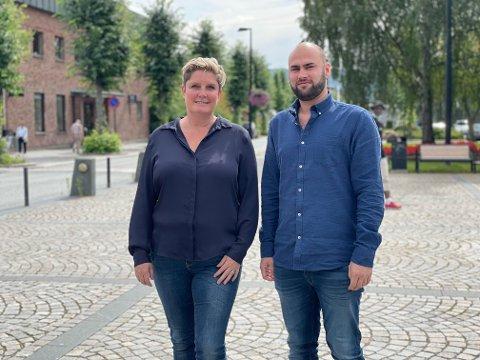 NYETABLERING: Tonje Agnete Hoffstuen og Christian Vassengen har startet nytt, privat helsefirma sammen. De startet opp i begynnelsen av sommeren og håper på å vokse stort fremover.