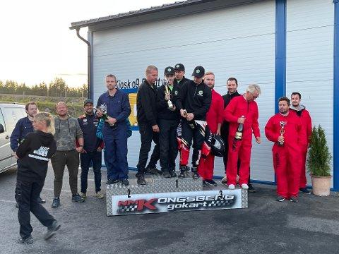 VANT: Hokksund Betong vant Bedriftscupen.