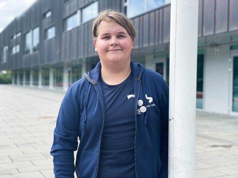 NY LEDER: Emil Andreas Bellen Nordahl er ny leder for det re-etablerte Unge Høyre i Øvre Eiker.