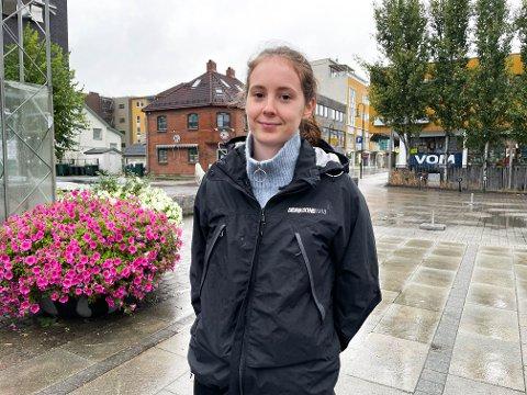 ARRANGØR: Anine Gustavsen er en av flere arrangører til årets Mjøndalsdager. Hun har hatt hovedansvaret for markedsføring og forventer masse folk i Mjøndalen sentrum til helga.