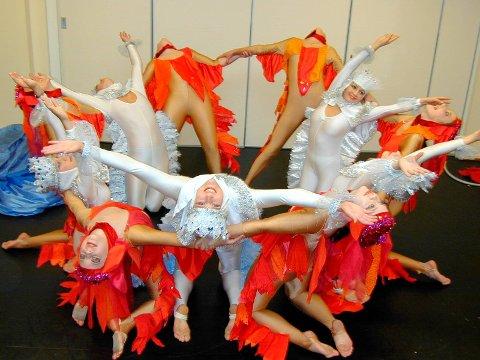 Dansere ved kulturskolen