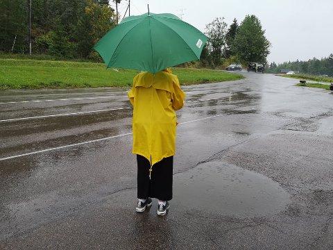 Værskifte: Etter mye sol har regnværet kommet.