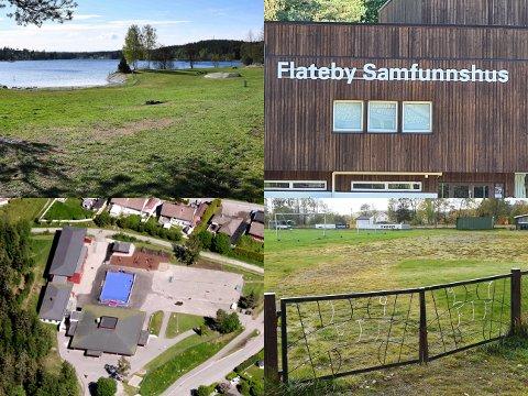Innbyggerne har kommet med forslag til nærmiljøanlegg både på Vikstranda, Flateby Samfunnshus, Hauglia skole og Enebakk stadion.
