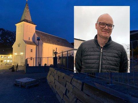 Niels Westhpal har vært kirkeverge i Nordkapp siden mars i  fjor. Nå har han sagt opp sin stilling.