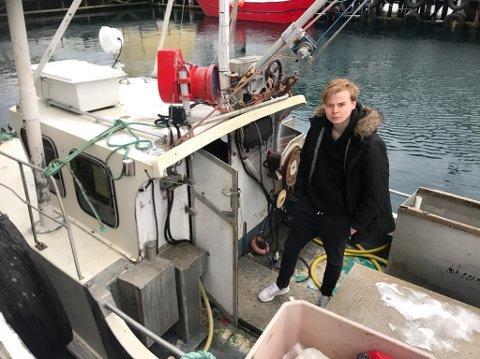 Kim A. Pedersen er glad for at det gikk bra. Nå vil han komme seg på havet igjen fortest mulig.