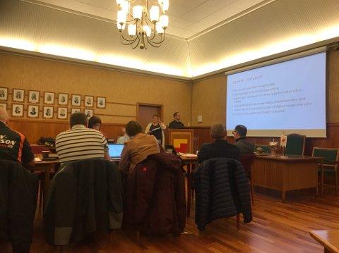 Menighetsrådet i Nordkapp informerte Formannskapet om tilstanden og utfordringene i Nordkapp Menighet.