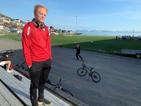 Turn-spiller, Emil Sandberg, er tatt ut til skyggelandslaget for gutter 16.