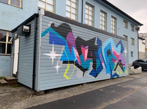 Øvingslokale for musikkinteressert ungdom midt i Honningsvåg.