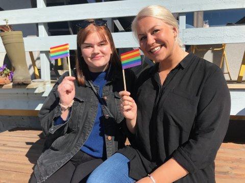 Sharon Fjellvang og Lisa Fosse inviterer til live-musikk og feiring av kjærligheten i kveld.