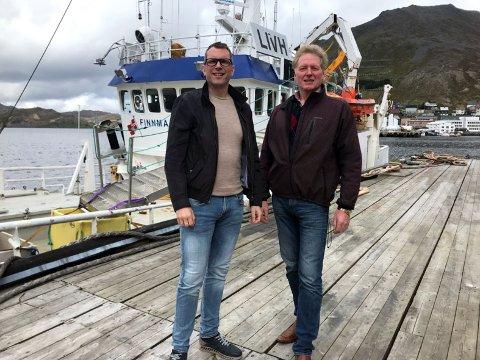 Stian Høyen og Johnny Ingebrigtsen.