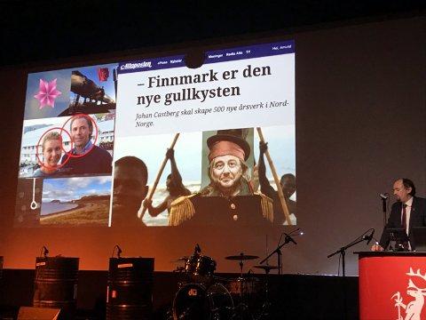 Finnmark ER den nye gullkysten. Men for hvem? Spørsmålet var sentralt gjennom hele Nordting.