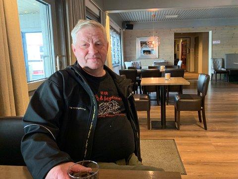 SANGFUGL: Frank Tore Nygård flyttet tilbake til Finnmark i 2002 og ble med i mannsangsforeningen i 2006. Det har han aldri angret på.