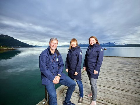 Jon Halvdan Lenning, Anita Lervoll og Janne Sannes.